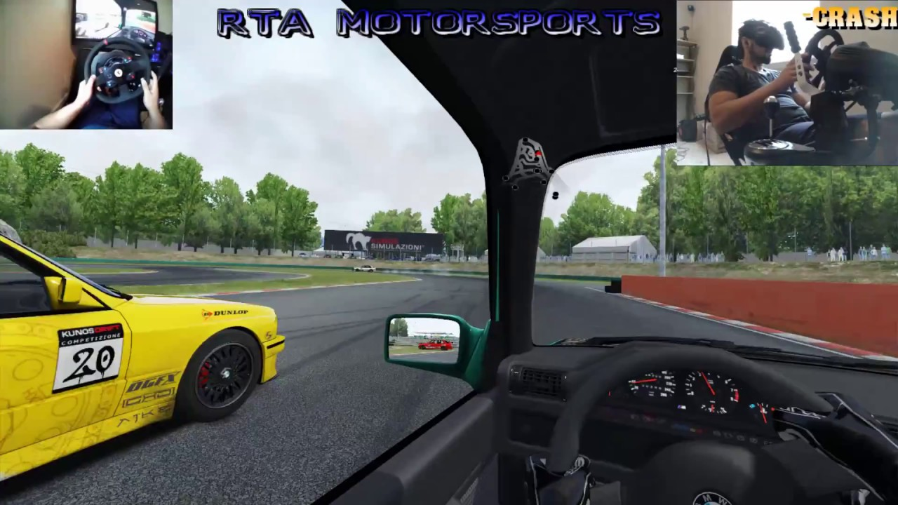 AC Drifting with Fanatec Handbrake