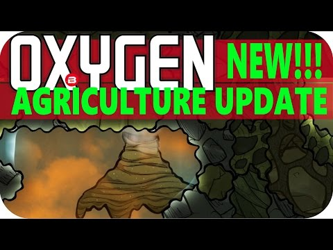 Oxygen Not Included: NATURAL GAS GEYSER Lets Play Oxygen Not Included AGRICULTURE UPDATE Gameplay #2