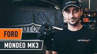 Jak vyměnit Snímač otáček kola abs на FORD MONDEO III Saloon (B4Y) - online zdarma video