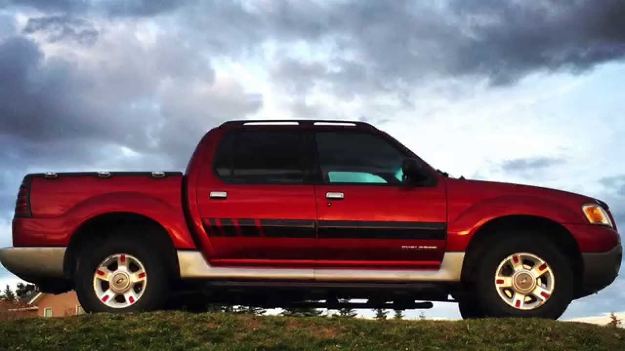 Custom 2001 ford explorer sport trac modification review