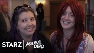 Ash vs Evil Dead | Blood, Sweat & Cheers: Fans React to the Premiere | STARZ