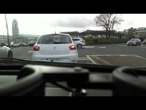 Car tour in Drogheda Ireland  جولة في شوارع أيرلندا بالسيارة