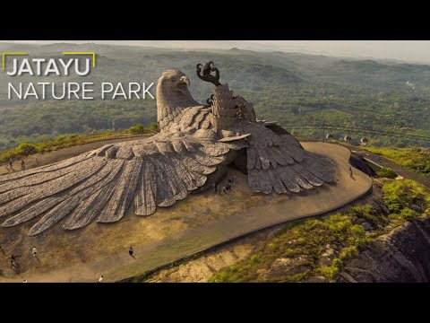 A Nature Park in Kerala Houses a Giant Statue of Jatayu
