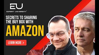 Secrets to Sharing the Buy Box with Amazon with Todd Snively Amazon & Chris Keef