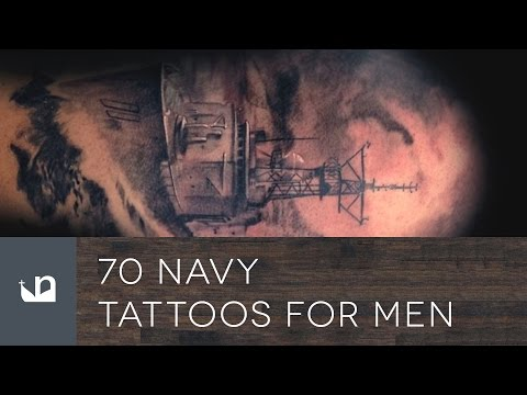 70 Navy Tattoos For Men - United States Navy