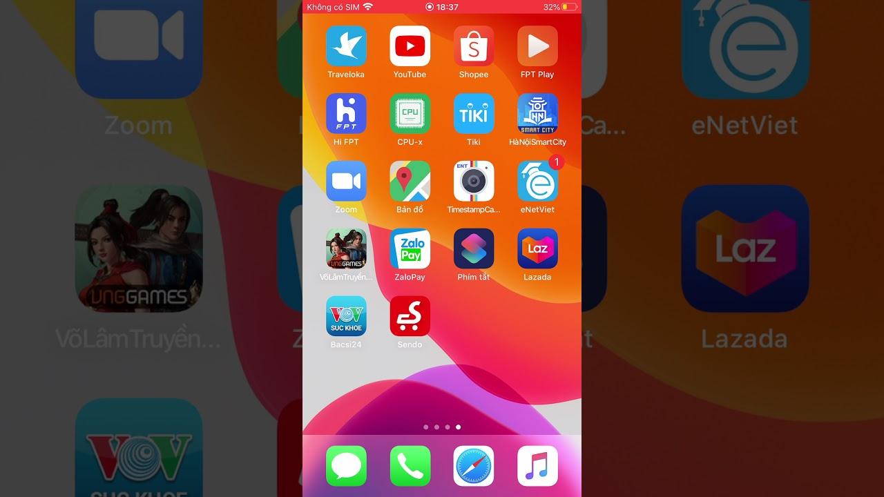 [SmartPK VL1M] Hướng Dẫn Cài Đặt SmarPK cho iOS Beta 15