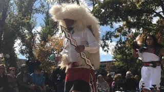 Indigenous Peoples Day Celebration 2017 - Laguna and Hopi Buffalo Dancers Clip 7
