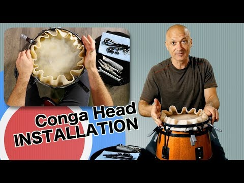 How to Change a Conga Head - Complete Instructions