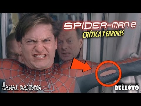 Movie Mistakes Spiderman 2 (Spanish Audio) Spider-Man