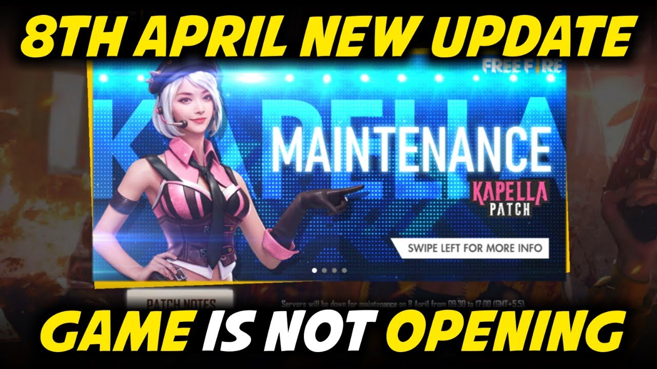 Free Fire April All New Update, Game is Not Opening – Garena Free Fire 2020