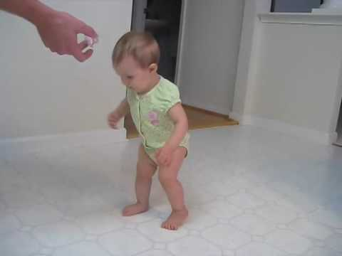 Baby Hannah Walking at 8 months