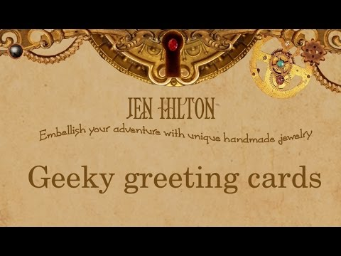 JLHjewelry - Geeky Greeting Cards