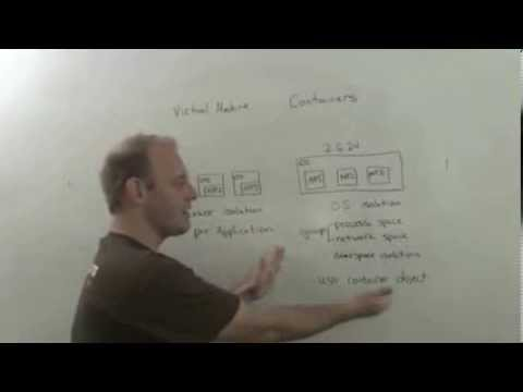 The Cloudcast - VMs vs Linux Containers - Whiteboard