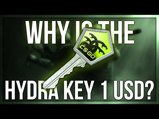 WHY IS THE HYDRA KEY 1 DOLLAR?