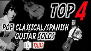 Baixar TOP 4 | Pop Classical/Spanish Guitar Solos