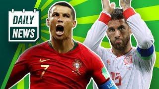 Ronaldo schreibt Geschichte! Ramos wollte seine Präsidenten angreifen und Real will Alisson!
