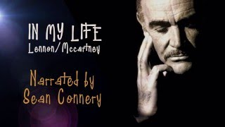 IN MY LIFE:  SEAN CONNERY narrator, charming John Lennon tribute using scrapbook-like visuals