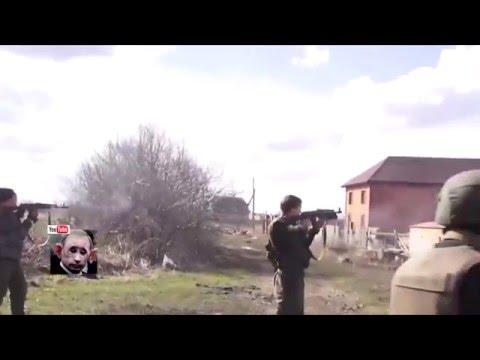 Украинский ПТУР прилетел в ответ.