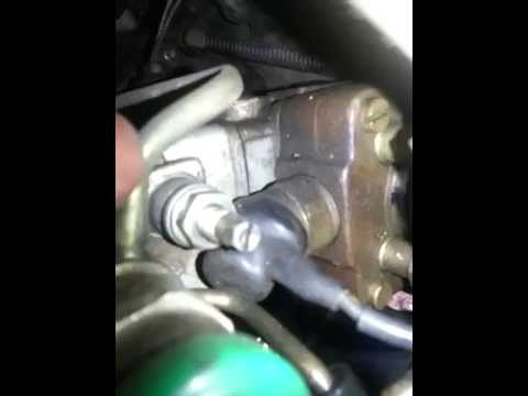 How to Adjust the Fuel Screw on a 4JB1T or 28td holden rodeo ZEXEL  Bosch VE injector pump
