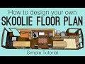 School Bus Conversion Floor Plan: Simple Tutorial to Design Your Own Skoolie!