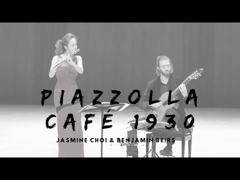 Piazzolla Cafe 1930 from History of Tango - Jasmine Choi and Ben Beirs 피아졸라 카� 최나경 벤바이어스
