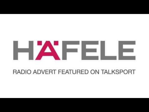 Häfele radio advert featured on Talk Sport