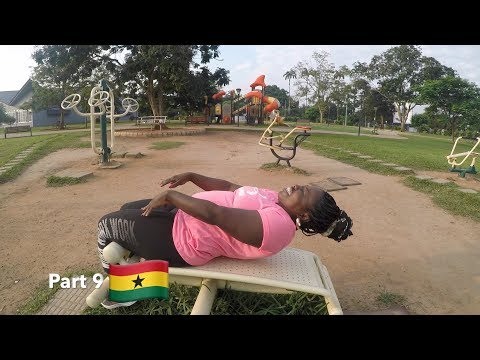 A TRIP TO GHANA - THIS PARK IS AMAZING (Part 9)
