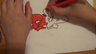 как рисовать граффити на бумаге (DIED)