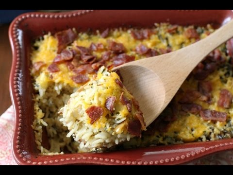 Cheesy Wild Rice Casserole -  Butter With A Side Of Bread