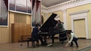 Livio Minafra at Tchaikovsky Kiev Conservatory
