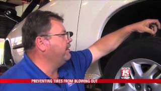 Preventing Tire Blowouts During Summer Months