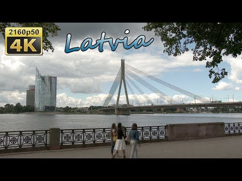 Riga, City Walk - Latvia 4K Tarvel Channel