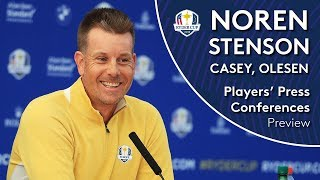 Ryder Cup 2018 - Noren, Olesen, Casey & Stenson - LIVE from Le Golf National