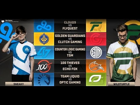 NA LCS Highlights ALL GAMES Week 9 Day 2 / W9D2 Spring 2018 Regular Season 5 Games