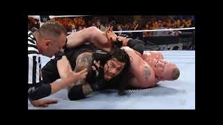 WWE Roman Reigns Vs Brock Lesnar Vs Dean Ambrose Fastlane Full Match HD #LOWIFUNNY #LOWIFUNNY
