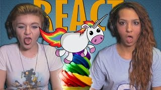 POOPING RAINBOWS | Girls REACT | SQUATTY POTTY