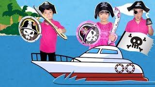 ★無人浜でお宝探し!「海賊クルージング!!」★Pirate cruising★ thumbnail