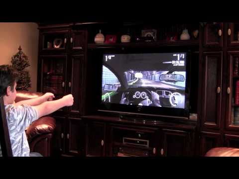 Forza Motorsport 4 Kinect Tutorial