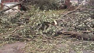 SPRINGFIELD MASSACHUSETTS TORNADO / AFTERMATH PART 1 / BY Brasspineapple Productions