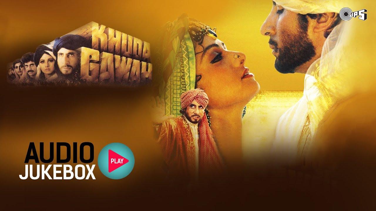 Download Khuda Gawah Jukebox - Full Album Songs | Amitabh Bachchan, Sridevi, Laxmikant-Pyarelal