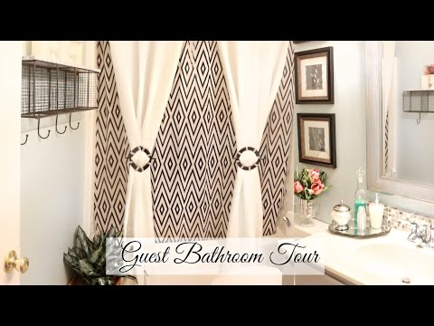 ♥ Glam Home ♥ Guest Bathroom Tour & Organization ♥ BUDGET FR