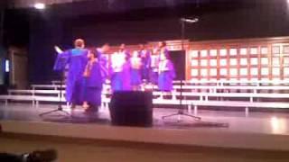 Kayla Boyd school Gospel choir 4-09 Top 10 Video