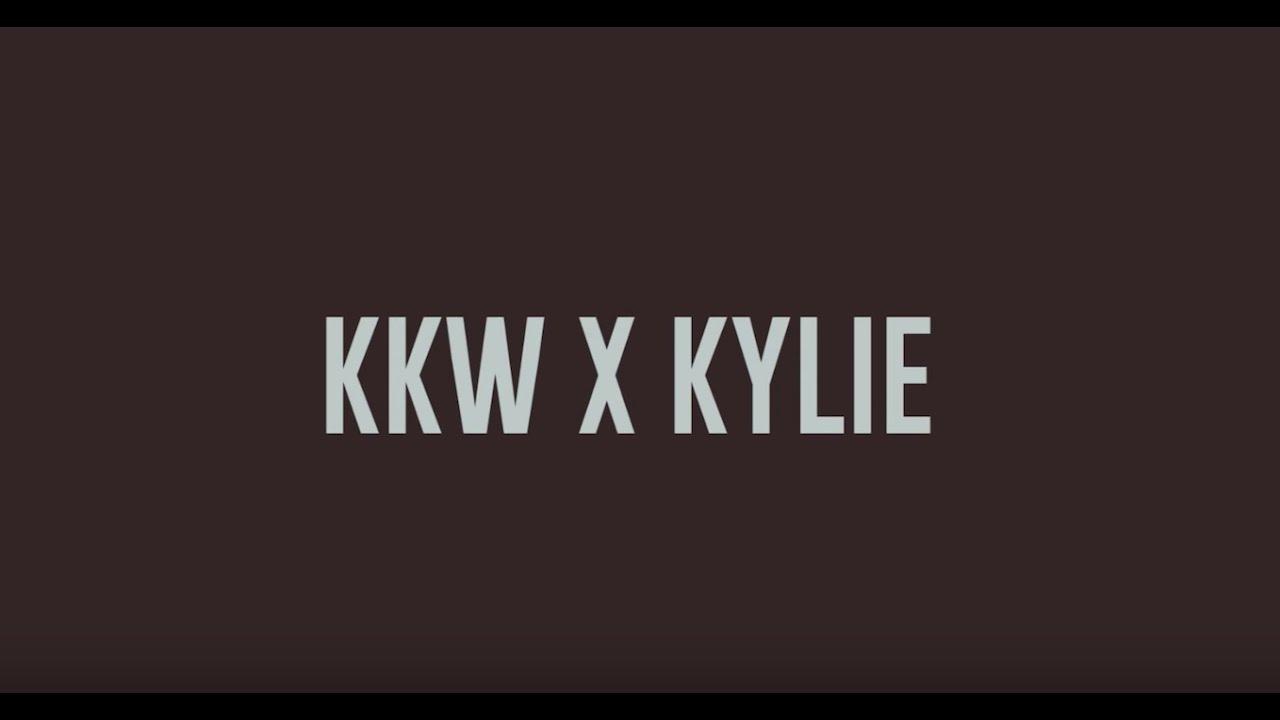 Black Kylie Cosmetics Logo