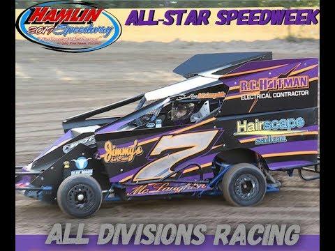 Hamlin Speedway All Star Slingshot Heat Race 8-17-2019