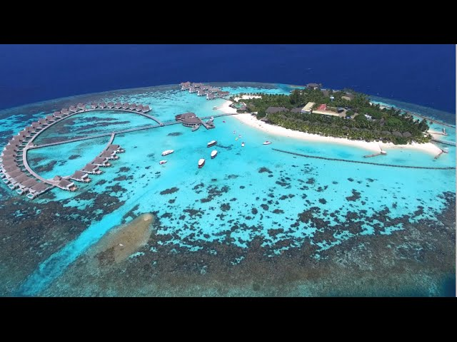 Drone Tour Centara Grand Island Resort Spa Maldives Youtube