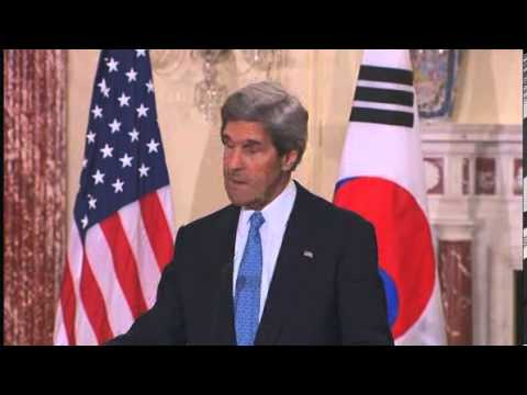 US Sec of State John F. Kerry issues stern warning to North Korea - World News  NBC News