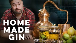I made my oẁn gin! | How to Drink