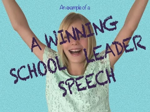 captain speech What is a speech that can help me get elected as the house captain in school update cancel promoted by prezi prezi is the key to interesting and engaging presentations what are some examples of school captain speeches.