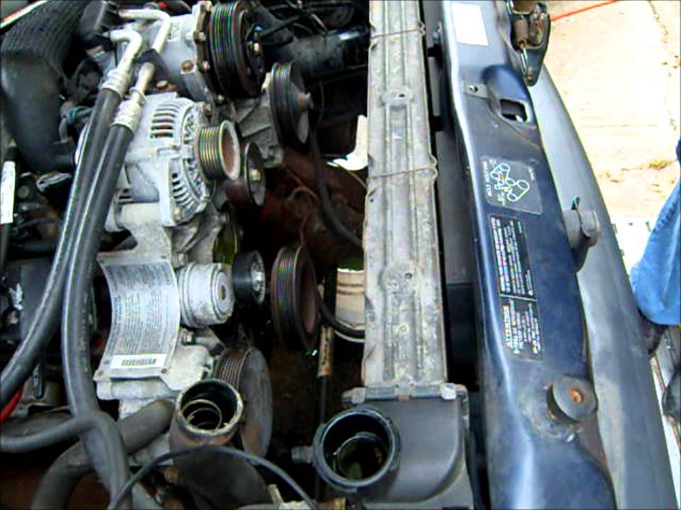 Working On The Cooling System 1995 Dodge Ram V10 Youtube