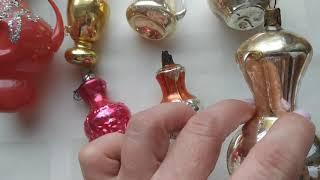 Скачать Антикварные елочные игрушки СССР 30 40 годы